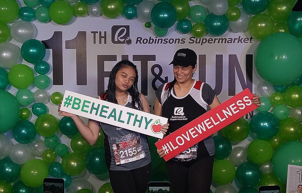 Rain or Shine: Robinsons Supermarket 11th Buddy Run at Camp Aguinaldo