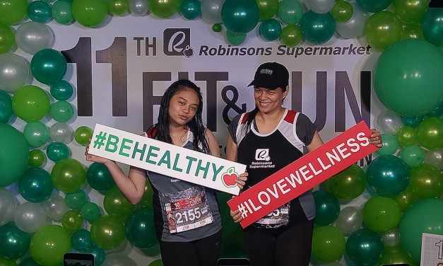 Rain or Shine: Robinsons Supermarket 11th Buddy Run at Camp Aguinaldo