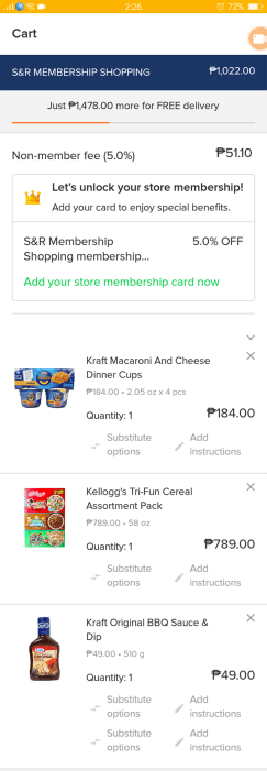 honestbee snr online grocery shopping delivery service lifestyle fitness mommy blogger www.artofbeingamom.com 09