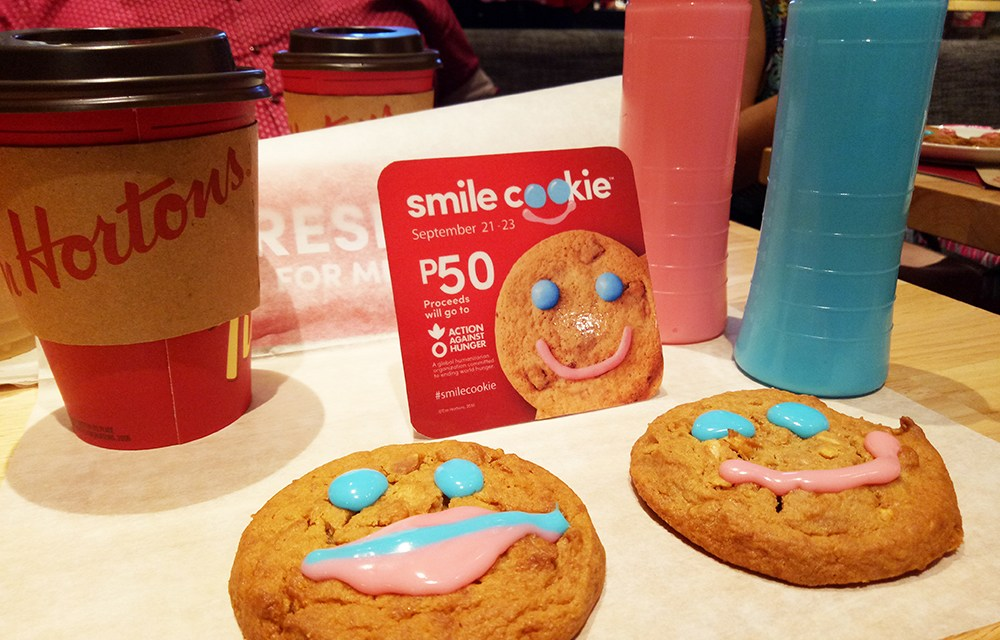 Tim Hortons Philippines: Smile Cookie Campaign to Benefit Action Against Hunger Philippines