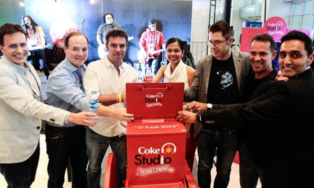 TuneCycle Pumps Up Recycling Experience at Coke Studio