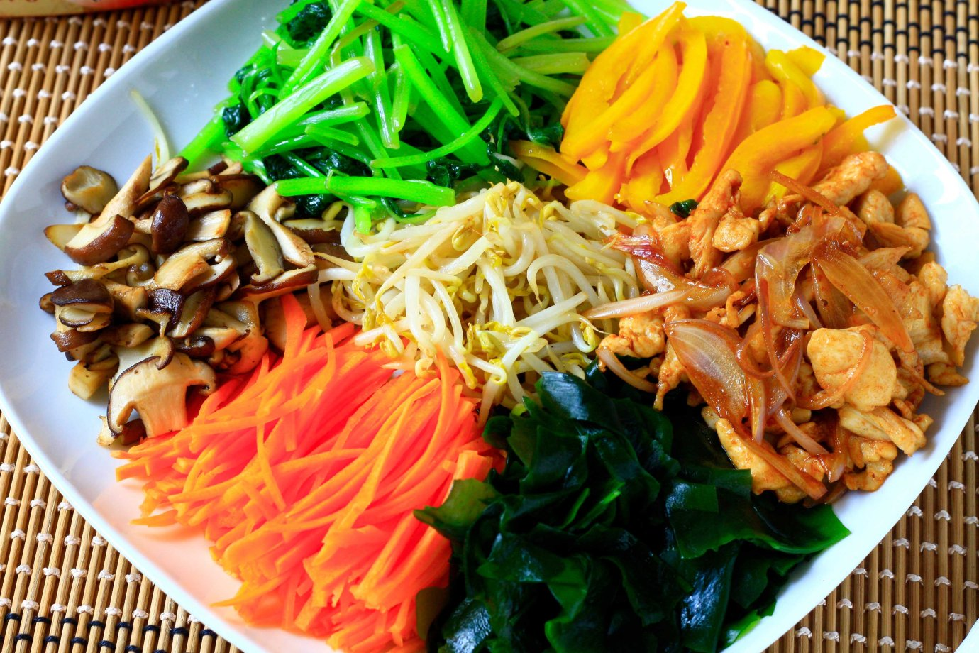 Bibimbap Chicken