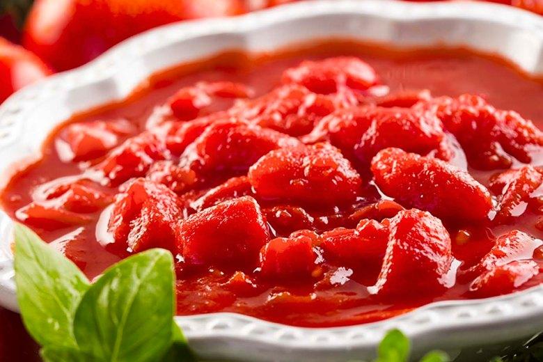 tomatos diced