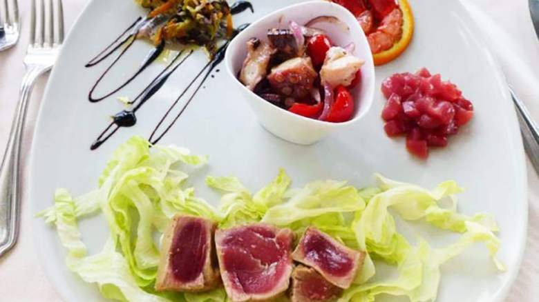 Tenute Plaia Seafood Platter