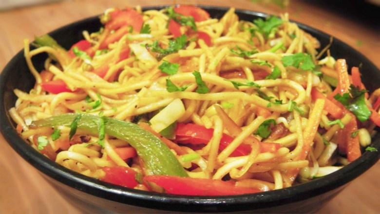 guyanese veggie chowmein