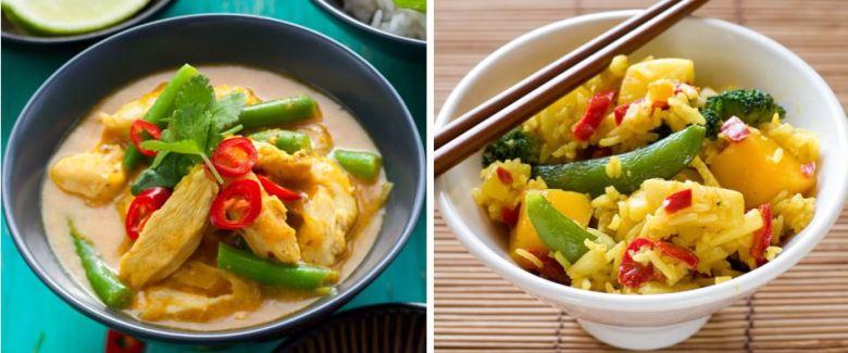 Mango Rice Bowls