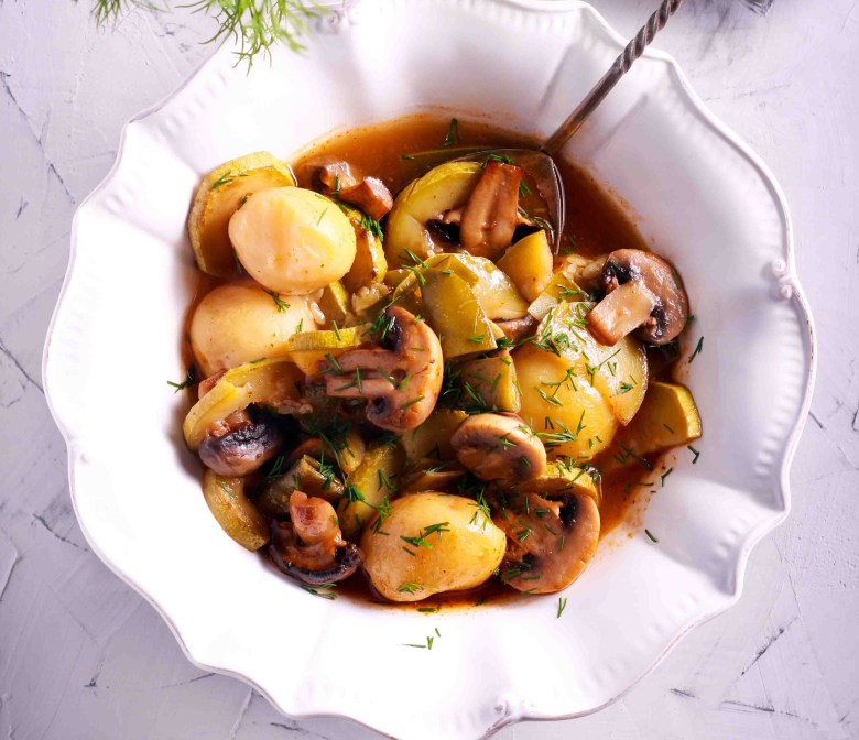 Portobello Mushroom Pot Roast