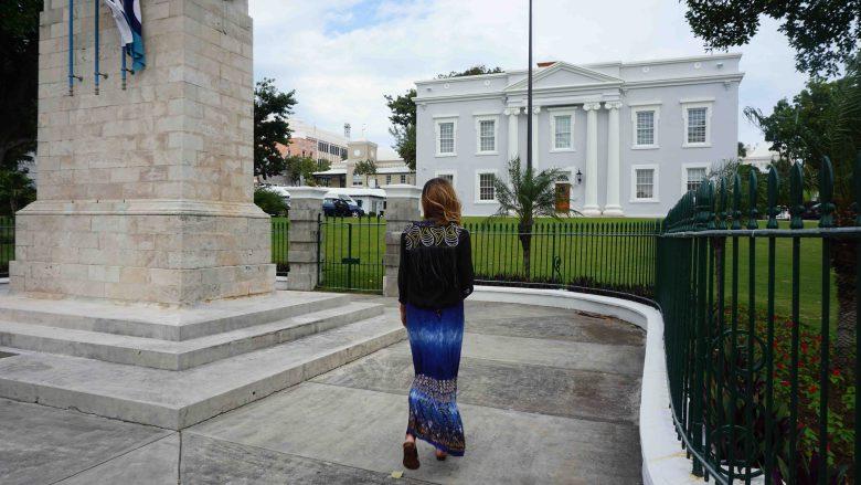 Bermuda walk