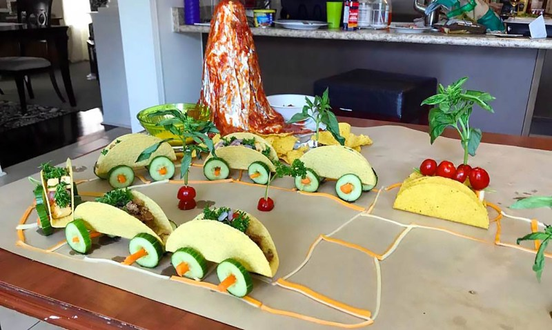 Taco Train project is fun and delicious!