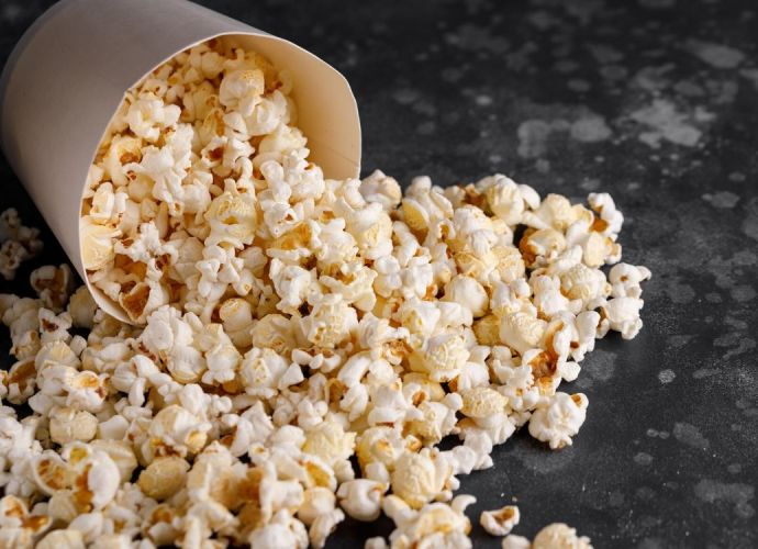 new issue of my magazine - popcorn for biotin