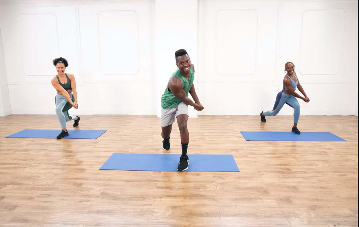 popsugar fitness HIIT routine