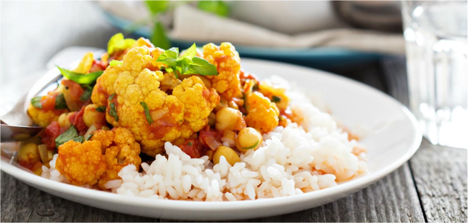 Guyanese-style chickpea (channa) curry