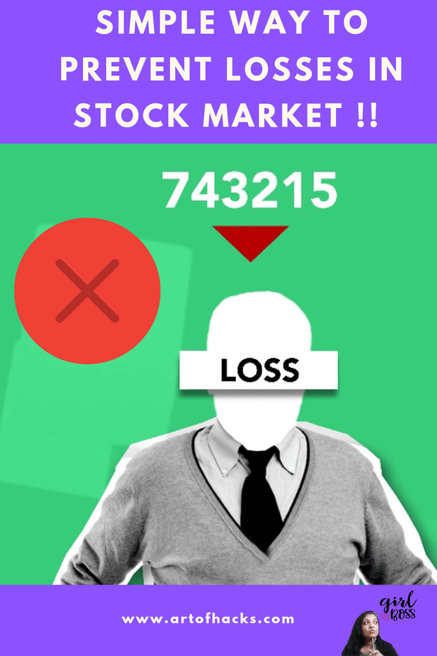 Easy way to prevent major losses in stock market   Free download in description   Beginners  