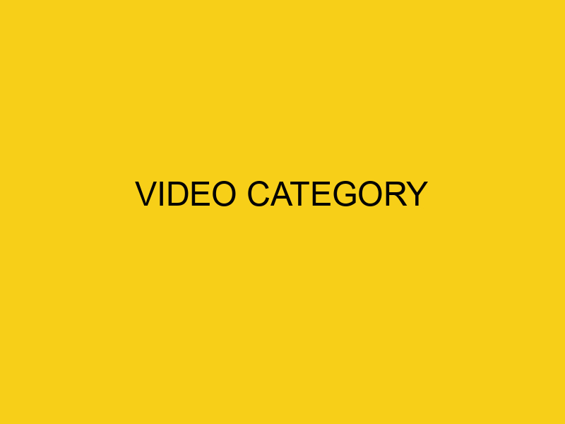 Video Category