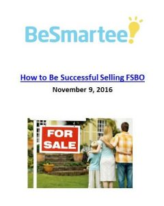 Three people share their success stories of how they sold FSBO. The Art of Happy Moving. www.artofhappymoving.com