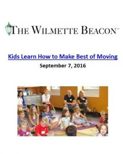 Ali Wenzke shows kids how to make the best of moving. The Art of Happy Moving. www.artofhappymoving.com