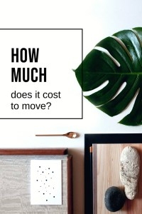 How much does it cost to move? The Art of Happy Moving. www.artofhappymoving.com