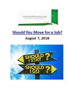 Vocation Village_Should You Move for a Job