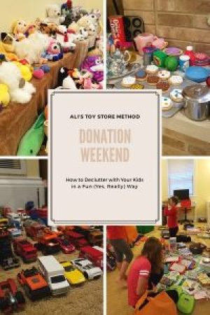 Donation Weekend_Ali's Toy Store Method_The Art of Happy Moving. www.artofhappymoving.com