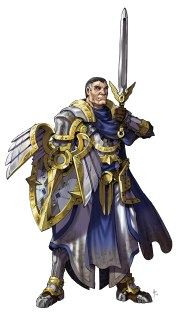 Paladin with Color