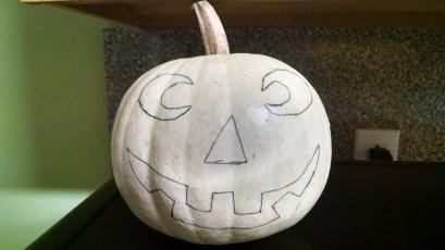 Goodbye cute, dorky pumpkin.