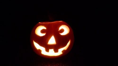 Goodbye light-of-my-life pumpkin.