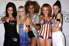 The Spice Girls, each with their own powerful individual identity