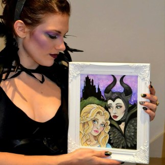 Lady Gabe as Maleficent
