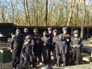 Day 12 - Paint balling with this bunch!