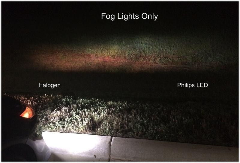Led Fog Lights Vs Halogen Www Lightneasy Net