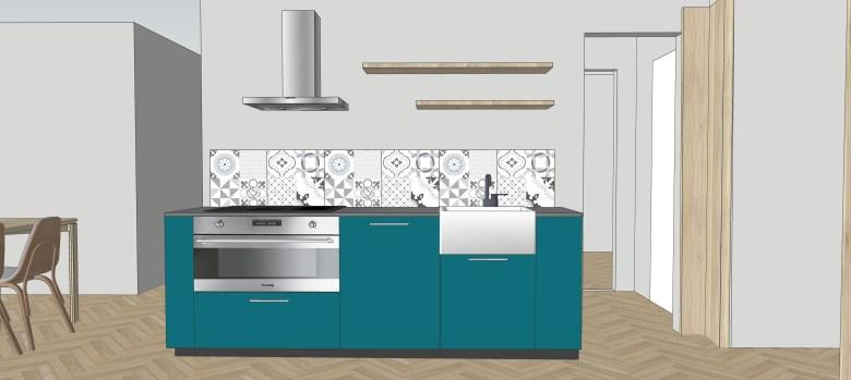 kitchen counter backsplash alor italy
