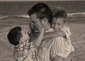 family-papa-children