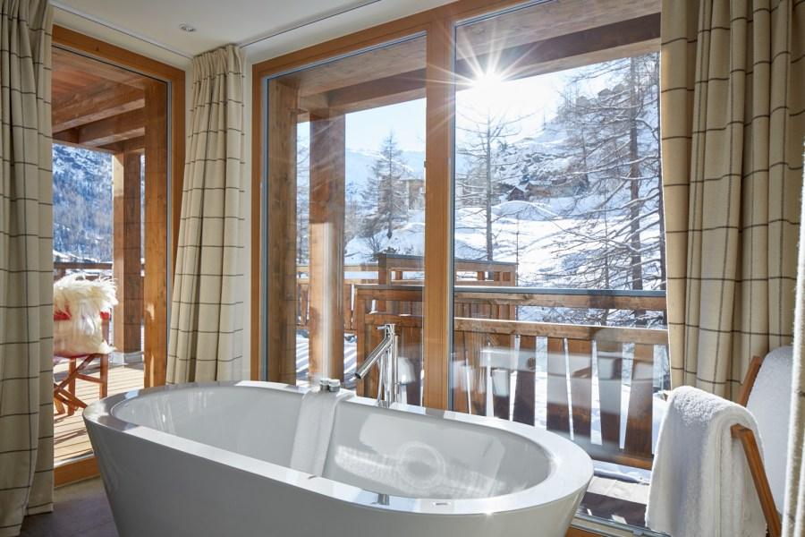 Alle Appartements verfügen über eine Wohnküche und jedes Schlafzimmer über ein eigenes Bad.