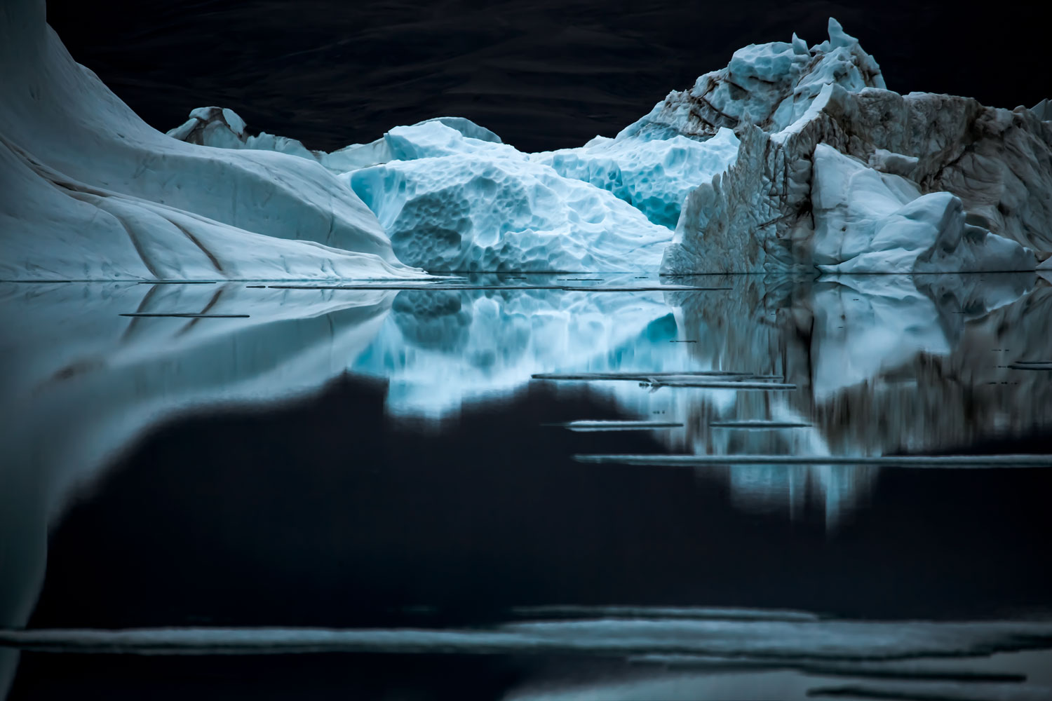 """""""A quiet night on Ellesmere Island in 24 hours of daylight."""""""