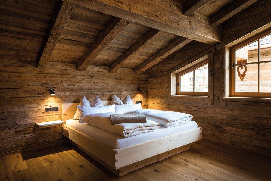 Schlafen im Chalet Komfort.