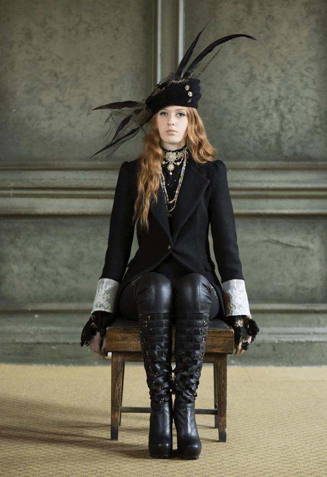 Fashion A Frock Coat. Shot by David Stanton.