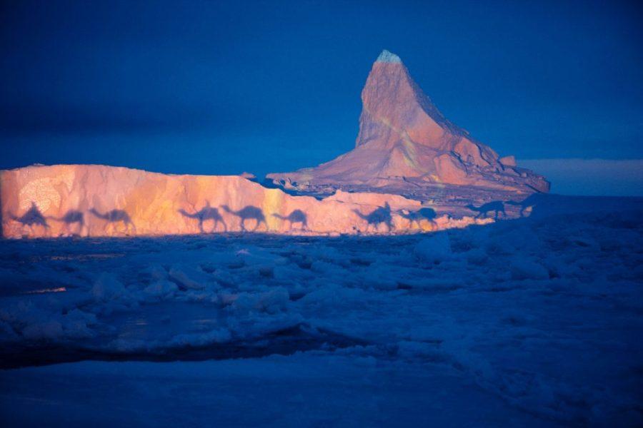 2007 und 2008 in die Arktis: Eiswüste trifft Sandwüste.