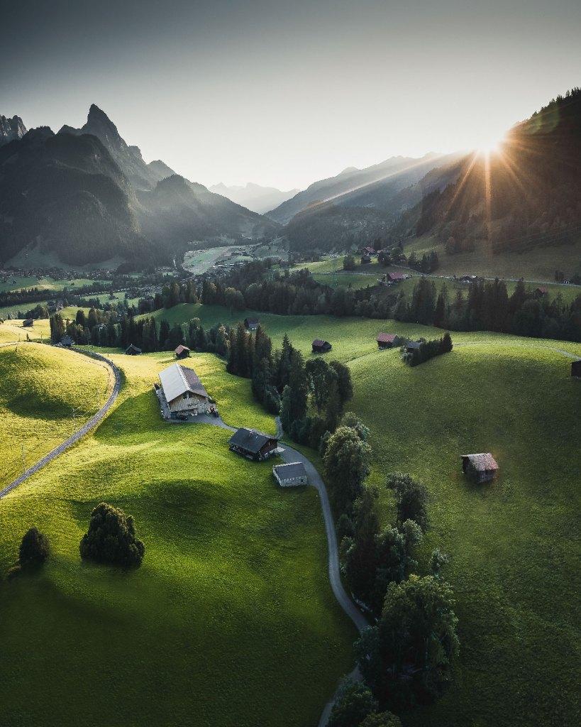 HUUS - mit Gstaader Bergwelt