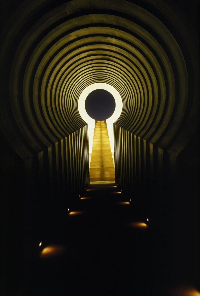 Ein System von Licht-Tunneln