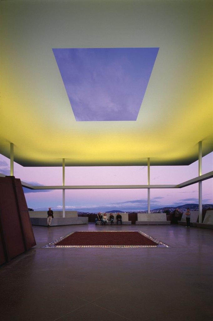 James Turrell Amarna-Skyspace Mona/Tasmanien (Foto: Holzherr)