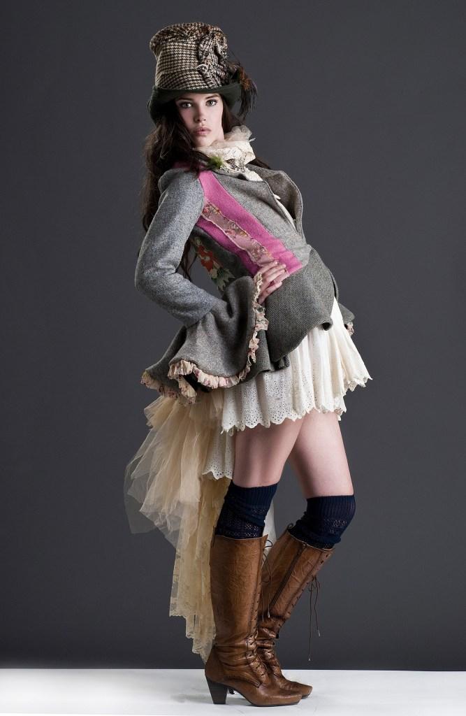 Harris Tweeds, Frock Coats & Feathers.