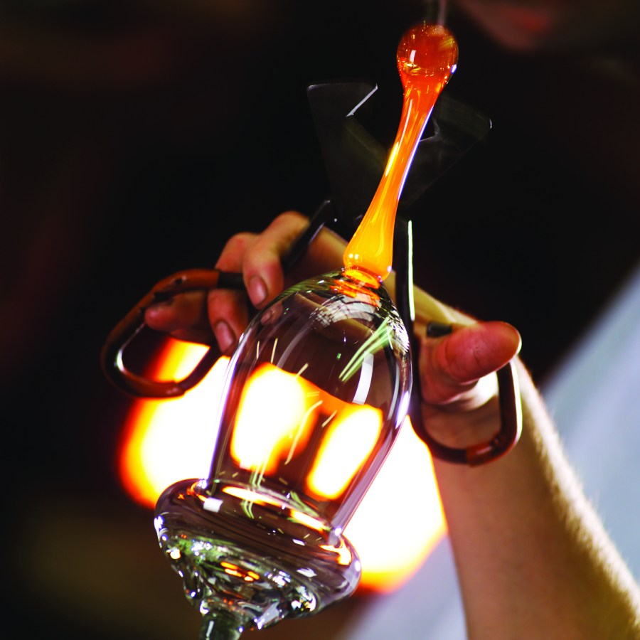 Faszination des Glasblasens