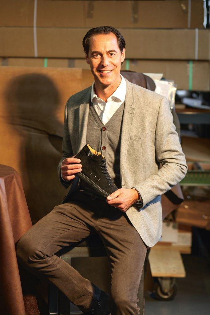 Flavio Agosti - Schuhliebhaber und Geschäftsführer