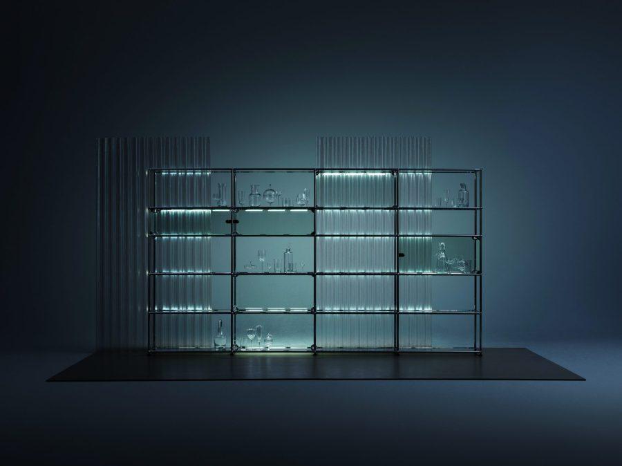 USM Haller - stabil, filigran und transparent