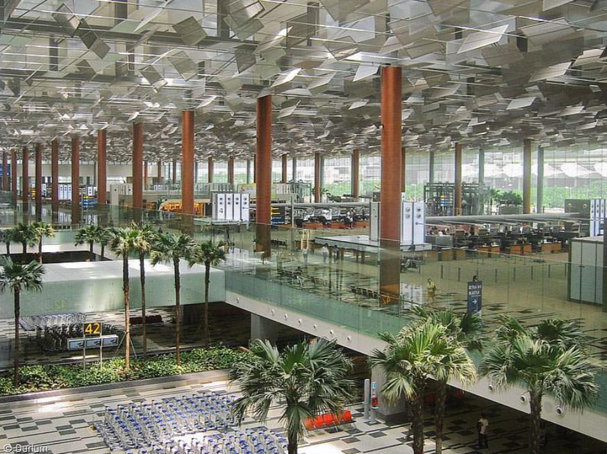 Singapur Changi-Airport Inside