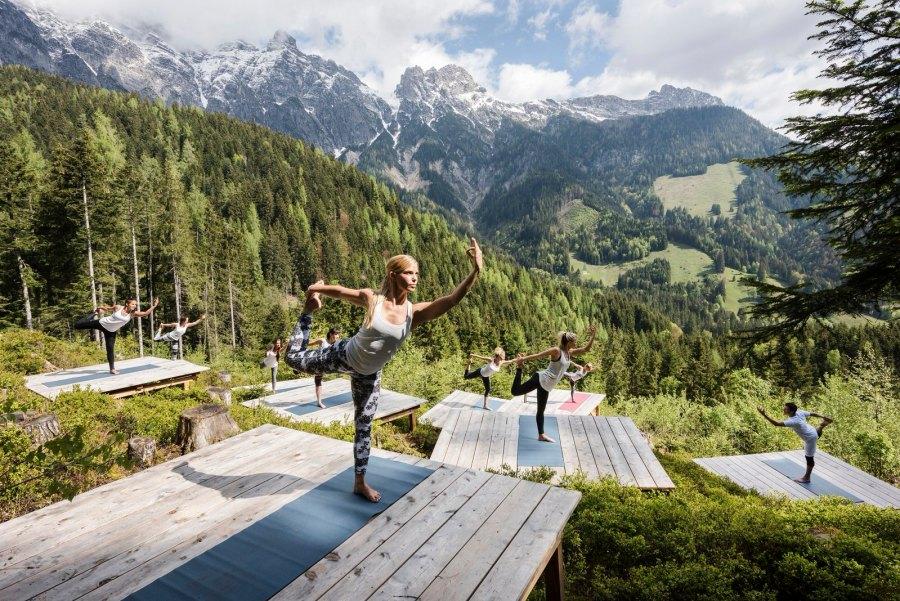 Yoga an einem ganz besonderen Ort...