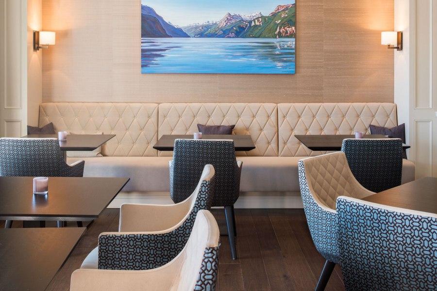Feinste kulinarisches Angebot im stilvoll eingerichteten Restaurant.