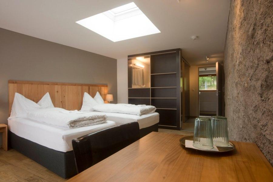 Das Berghotel Sterna bietet 15 Zimmer.