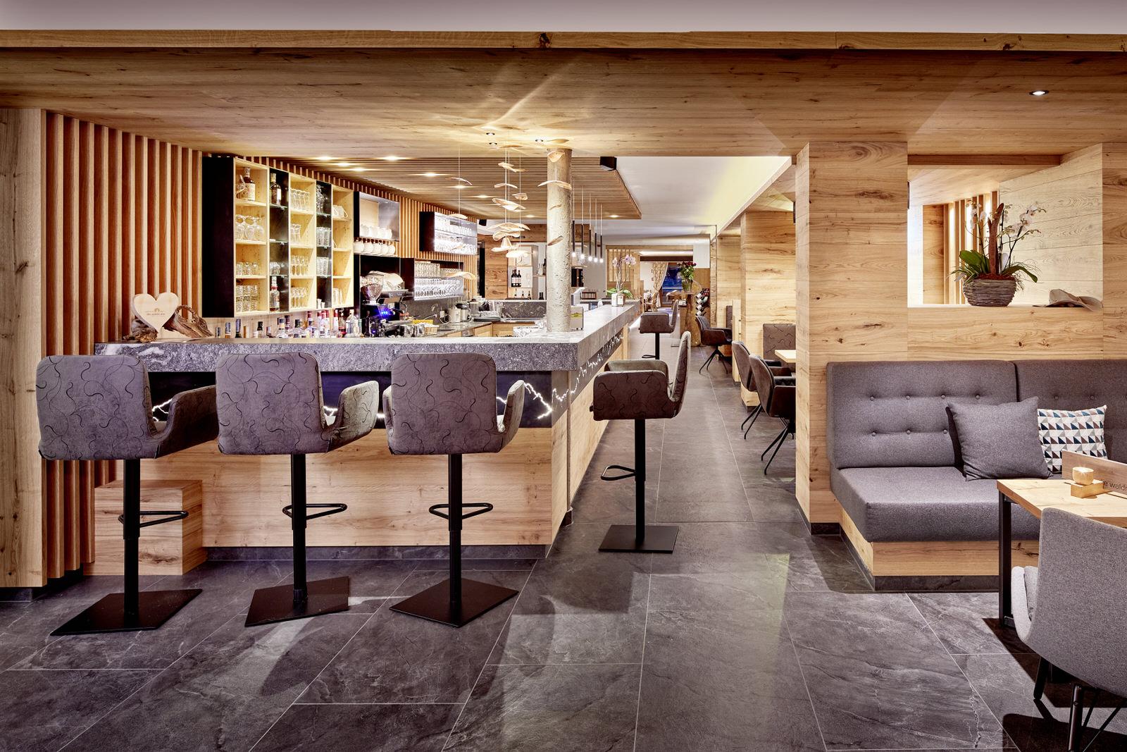Hotel Waldruhe Bar.