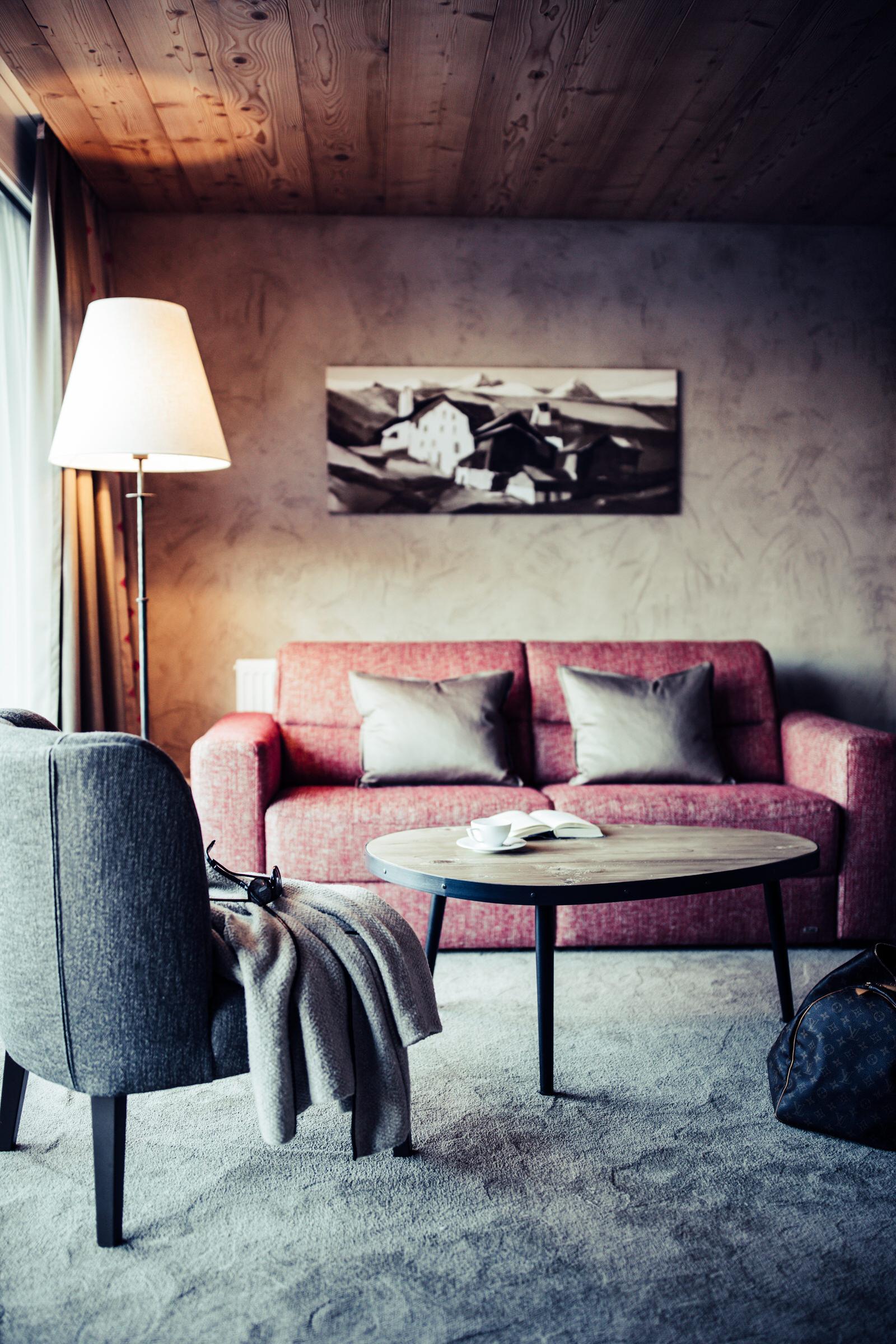 Private Rückzugsorte im Bio Hotel Bergzeit.